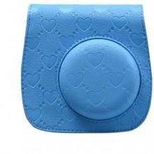 حقيبة جميلة وذات الوان رائعة لكاميرات فوجي الفوية ميني 8 - لون ازرق