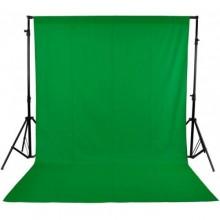 خلفية تصوير قماش لون اخضر مع استاند حامل للخلفيات