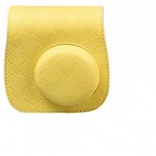 حقيبة جميلة وذات الوان رائعة لكاميرات فوجي الفوية ميني 8 - لون اصفر