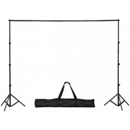استاند حامل خلفيات تصوير للاستديو عرض 3 متر وطول 2.8 متر
