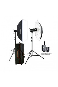 Godox SK400II 2-Light Studio Flash Kit