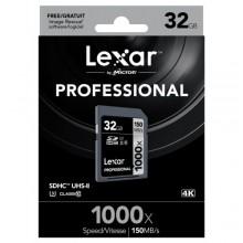ليكسار بطاقة ذاكرة 32 جيجا 1000x 32GB SDHC UHS-II/U3