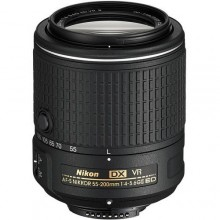 نيكون عدسة نيكور 55-200 مم AF-S DX 55-200mm f/4-5.6G ED VR II