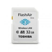 ميموري واي فاي ذاكرة توشيبا FlashAir 16GB الاصدار الثالث