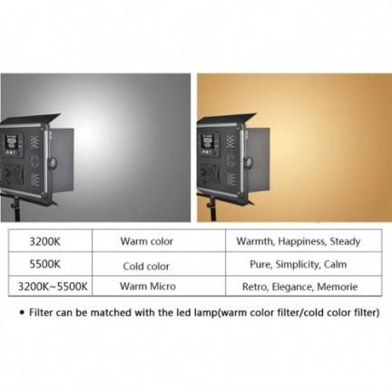 LED D-2000 Video Photography Light