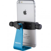MeFOTO SideKick360 Smartphone Tripod Adapter Blue