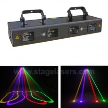 Laser with four lenses with 900 mp watt