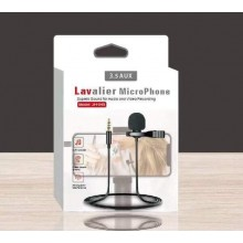 JH043 Lavalier 3.5mm Jack Condenser Wired Mic For smartphone