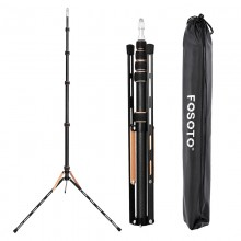 Fosoto FT-190 Gold Ring Lamp Tripod Stand