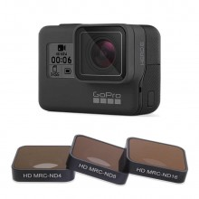 FOTOFLY Hero5/6/7 Camera Filter CPL/UV/ND 4 8 16/Red/Magenta/Yellow Filters