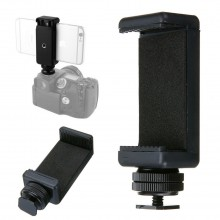 Screw Adapter Tripod Mount Phone Clip Holder for SLR DSLR Camera