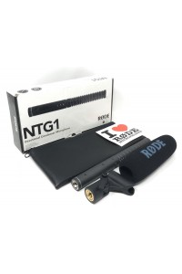 Rode NTG-1 Directional Condenser Microphone - Video Shotgun Microphone