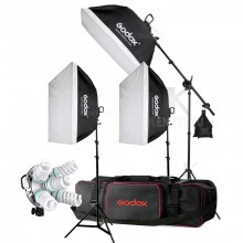 3x Godox TL-5 E27 5 Socket Light Holder