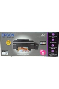 Epson L805 InkJet Photo A4 Wireless Printer with CIS Tank