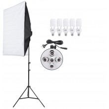 Photo Studio Video Continuous Lighting Kit