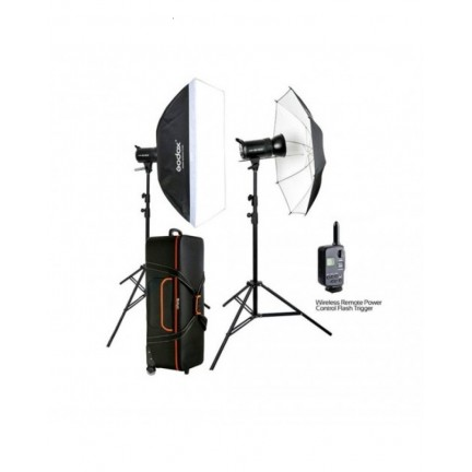 Godox SK400II 2-Light Studio Flash Kit