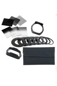 9 Metal Adapter Ring with 6 Cokin P Series Filter Set