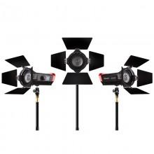 Aputure LS-Mini20 Fresnel Lighting Kit x3 -DDC