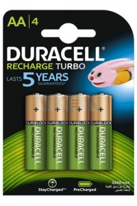 Duracell Rechargeable Battery Mignon AA 2500mAh
