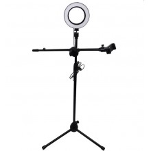 16cm Selfie Ring Light with 150cm Tripod Height