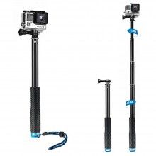 Waterproof GoPro Flexible Telescoping Monopod
