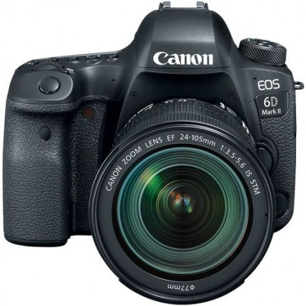 Canon EOS 6D Mark II with EF 24-105mm IS STM Lens