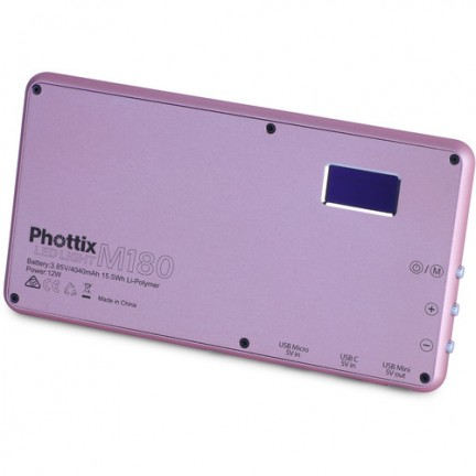 Phottix M180 LED Light ( Rose Gold )