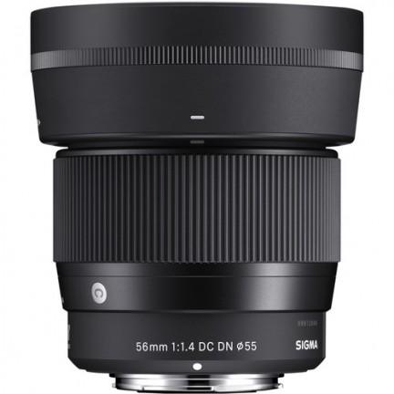 Sigma 56mm f/1.4 DC DN Contemporary Lens for Sony E