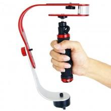 DEBO Handheld Video Stabilizer for DSLR Camera Camcorder, UF-007(Red)