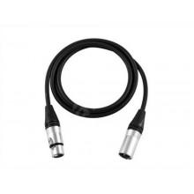 XLR3M-XLR3F XLR audio cable 5 Meter