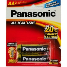 Panasonic Alkaline AA Battery (LR6)