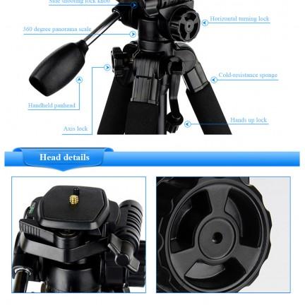 QZSD Q111 Professional Aluminium Camera Tripod