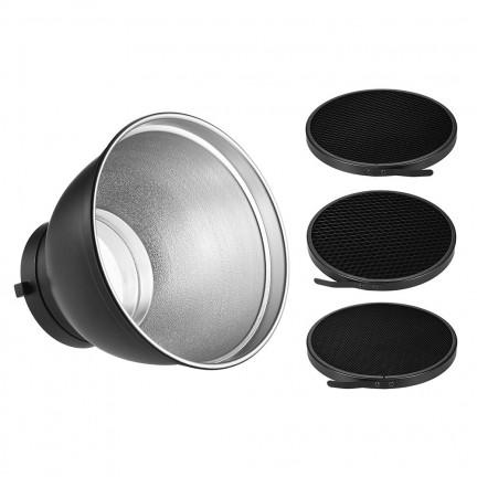 7'' Bowens Mount Standard Reflector Diffuser Lamp Shade Dish