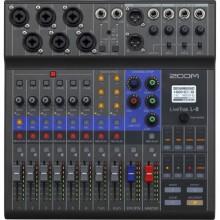 ZOOM LIVETRAK L-8 PORTABLE 8-CHANNEL DIGITAL MIXER