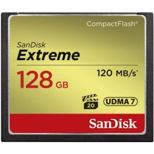 SanDisk Extreme 128GB Compact Flash Memory Card