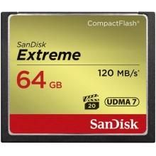 SanDisk Extreme 64GB CompactFlash Memory Card