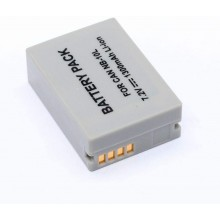 Mamen Li-Ion Camera Battery - Canon NB-10L 1300mAh