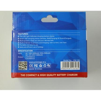 Promage Battery Charger For Nikon EN-EL15 D7100, D750, D7000, D7200, D810, D610, D800, D600, D800e, D810a, D500
