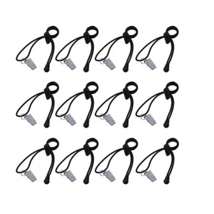 12 Pcs/Pack Background Cloth Clamps Photography Backdrop Clips Elastic Cord