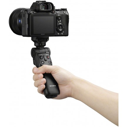Sony Wireless Bluetooth Shooting Grip and Tripod for still and video, ideal for vlogging (GP-VPT2BT)