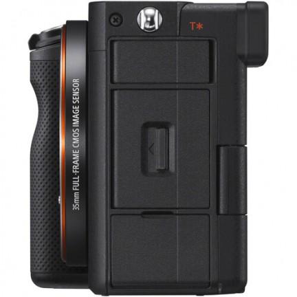 Sony Alpha a7C Mirrorless Digital Camera with 28-60mm Lens (Black)