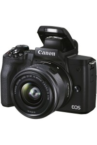 Canon EOS M50 Mark II Mirrorless Digital Camera with 15-45mm Lens