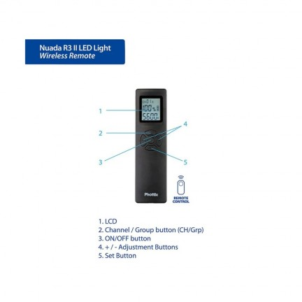 Phottix Nuada R3 II Video LED light