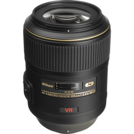Nikon AF-S VR Micro-Nikkor 105mm f/2.8G IF-ED Lens