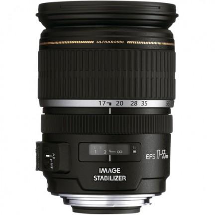 Canon EF-S 17-55mm f/2.8 IS USM Lens