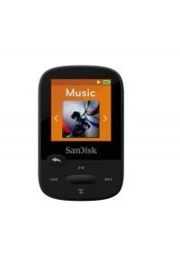 SanDisk 8GB Clip Sport MP3 Player, Black - LCD Screen and FM Radio