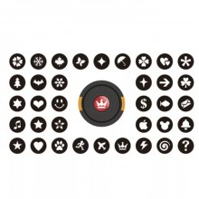 72mm Bokeh Masters Kit Bokeh Effect Lens Cap Cover Filter for Artistic Romantic Night Scene Photography
