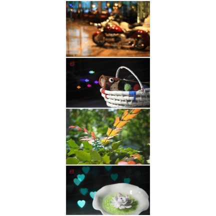 72mm Bokeh Masters Kit Bokeh Effect Lens Cap Cover Filter for Artistic Romantic Night Scene Photography