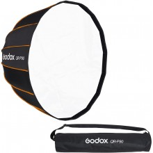 Godox QR-P90 90CM Quickly Release Parabolic Deep Softbox for Bowens Mount Studio Flash