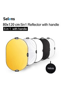 Selens 80x120cm 5 in 1 Reflector Photography Portable Light Reflector